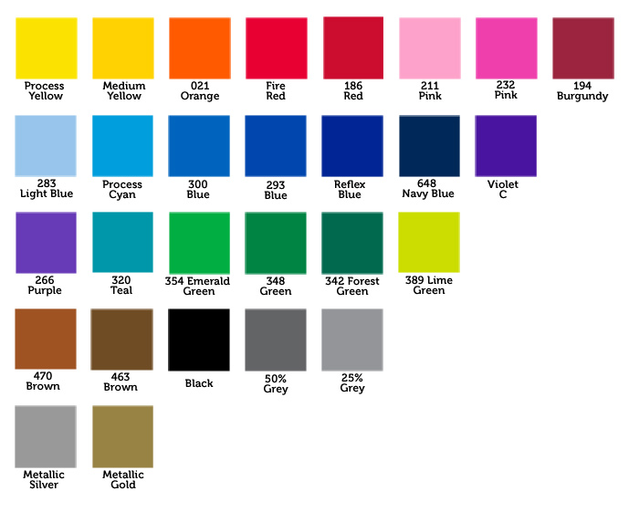 Pantone Colors Chart Pdf  CityEsporaCo