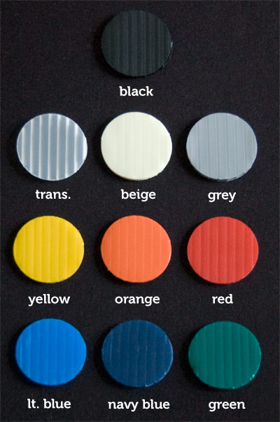 Coroplast Colour Chart | CanadaLawnSigns | Lawn and Yard Sign Prices Canada